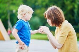 validate children's feelings