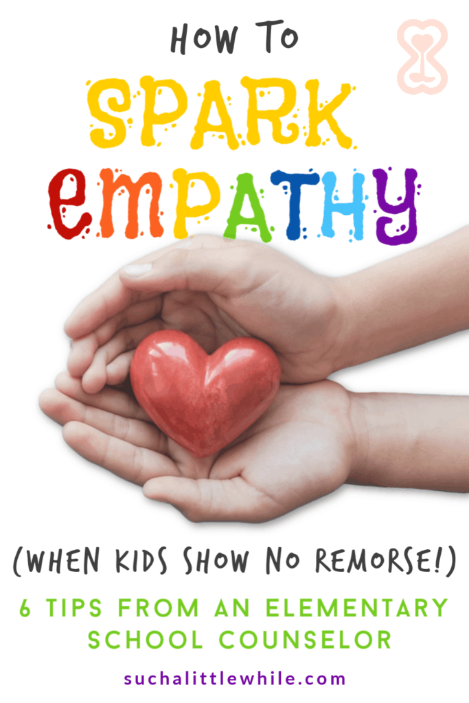 How to Spark Empathy (When Kids Show No Remorse!)... Another great article on teaching life lessons to your child.