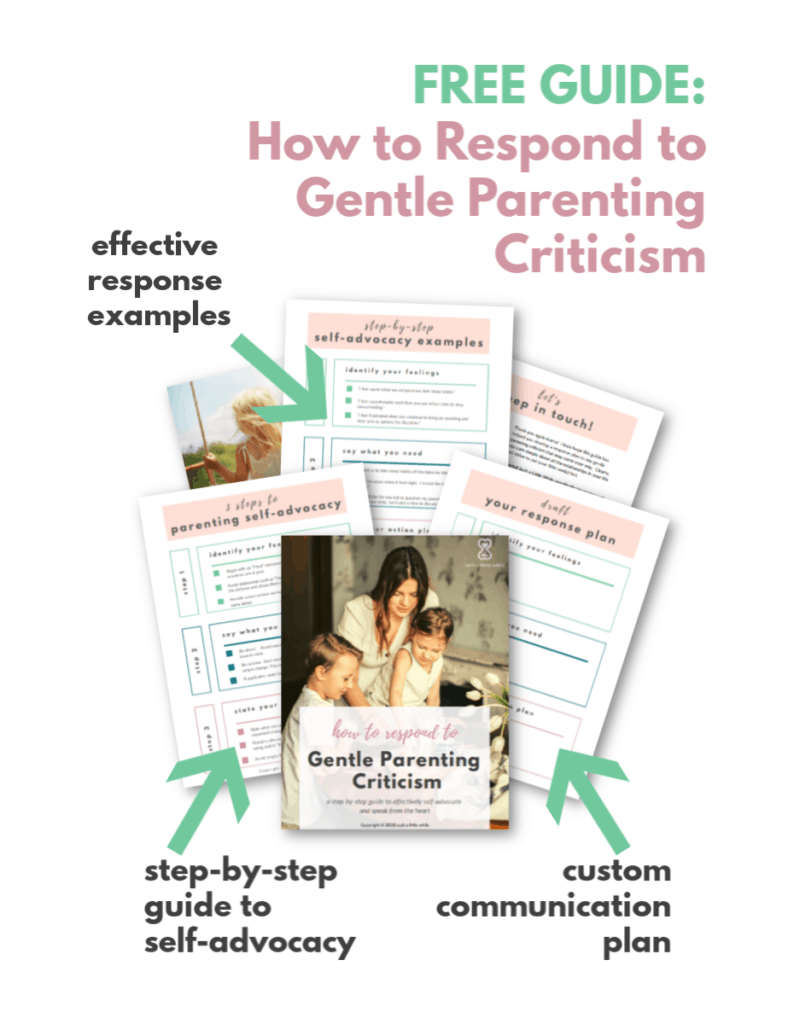 Criticism of Attachment Parenting: FREE Guide for Gentle Mamas!