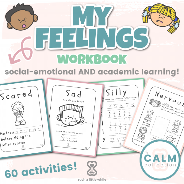 My Feelings Workbook by Such a Little While