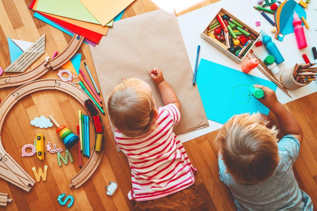 Play-based homeschool preschool.