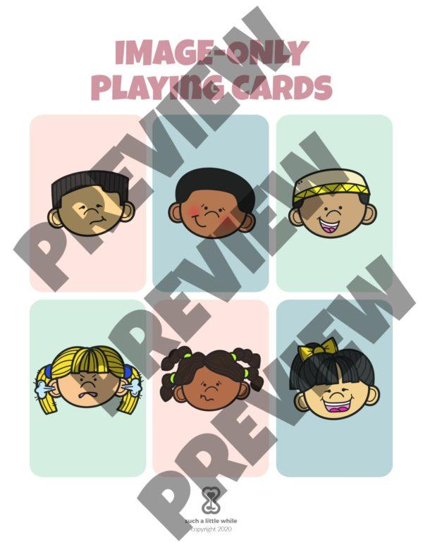 Feelings Bingo Game Preview 3