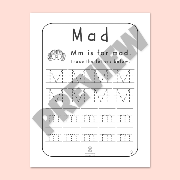 """Anger Worksheets for Kids PDF: """"It's Okay to Feel Mad!"""" by Such a Little While Preview 3"""