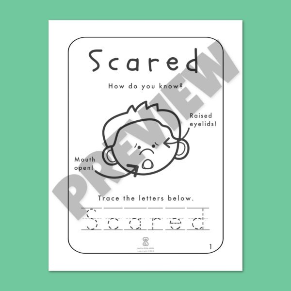 Fear Worksheets Bundle Preview 1