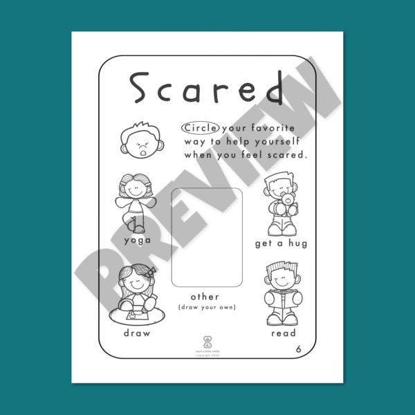 Fear Worksheets Bundle Preview 6
