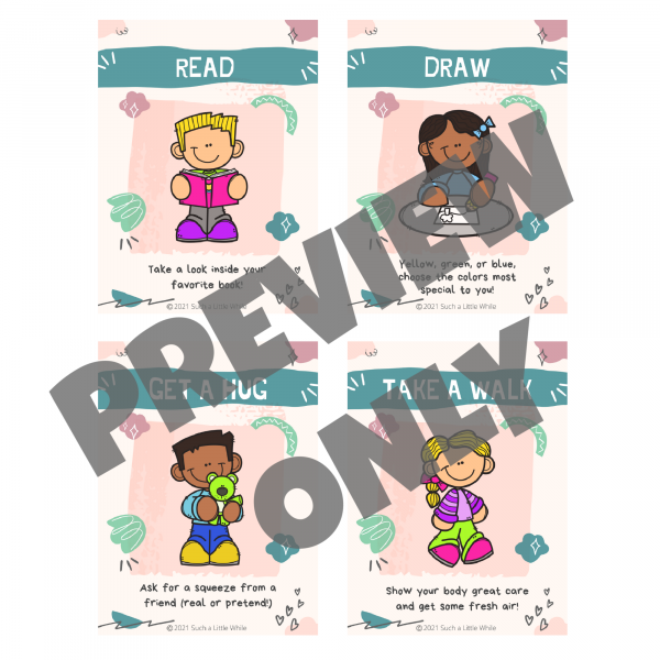 Calm Down Visual Cards Preview 3