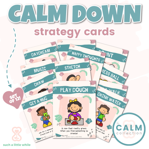 Printable Emotions Visual Cards | How to Create a Calming Corner by Such a Little While