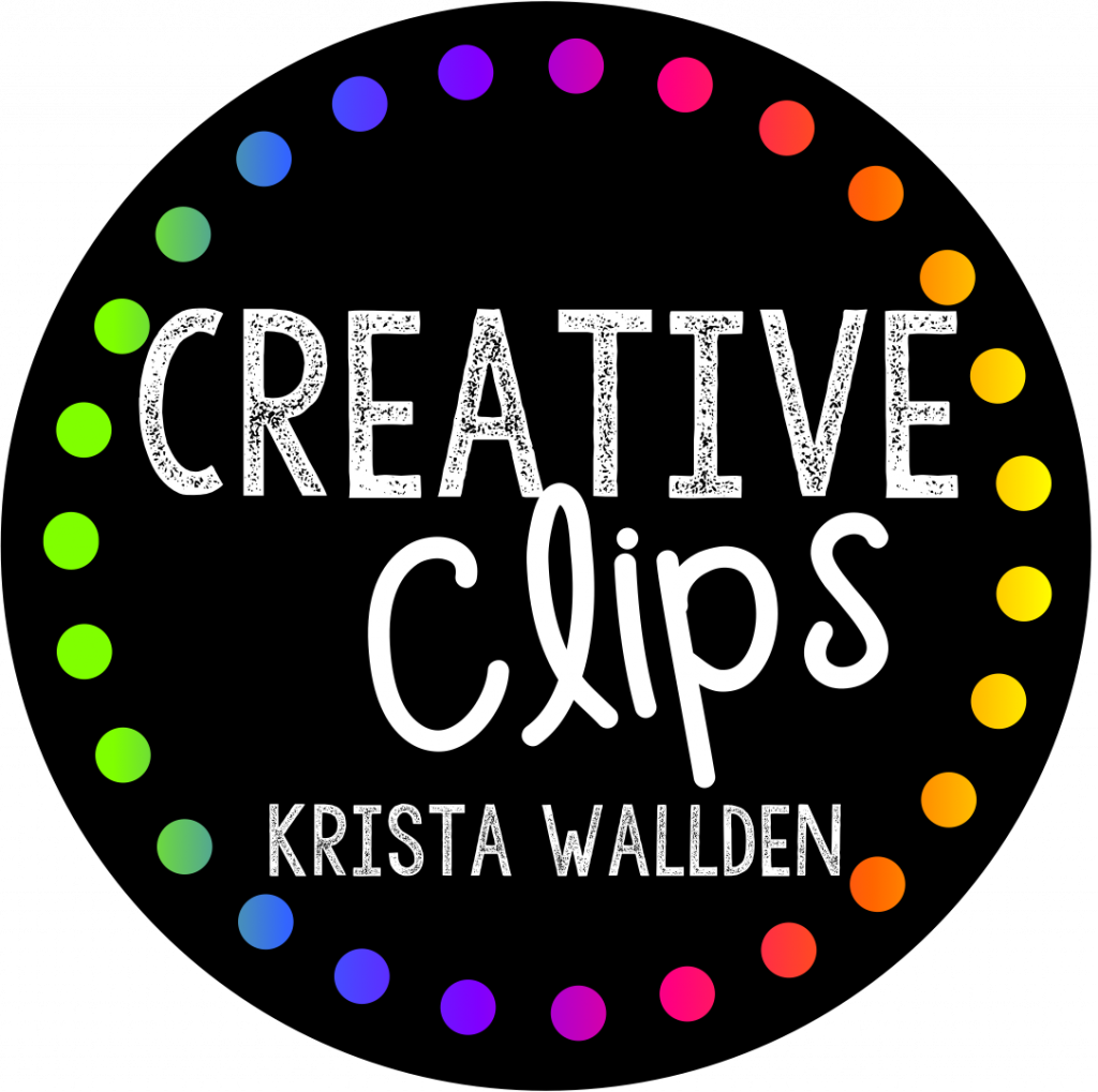 Clipart Image Credit for Calm Down Printables: Creative Clips by Krista Wallden