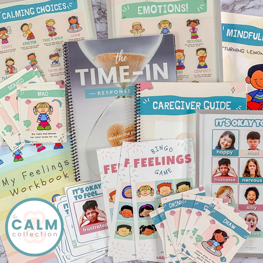 The CALM Collection (How to Create a Calming Corner: Ultimate Kit) by Such a Little While
