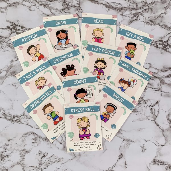 Calming Strategy Cards for Kids by Such a Little While