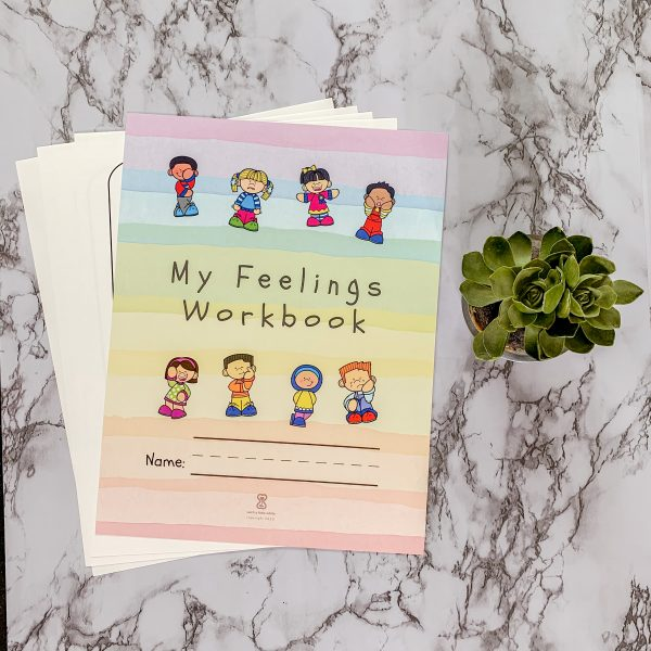 My Feelings Workbook Social & Emotional Learning Pre-K Worksheets by Such a Little While