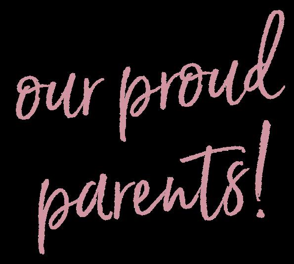 our proud parents!