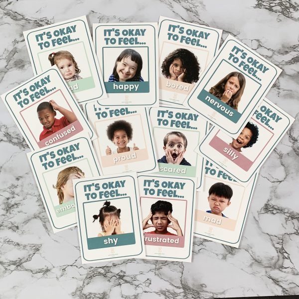 Real Face Emotions Cards for Identifying Feelings by Such a Little While