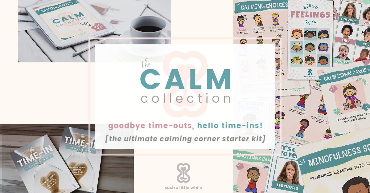 The Calm Collection | How to Create a Calming Corner by Such a Little While